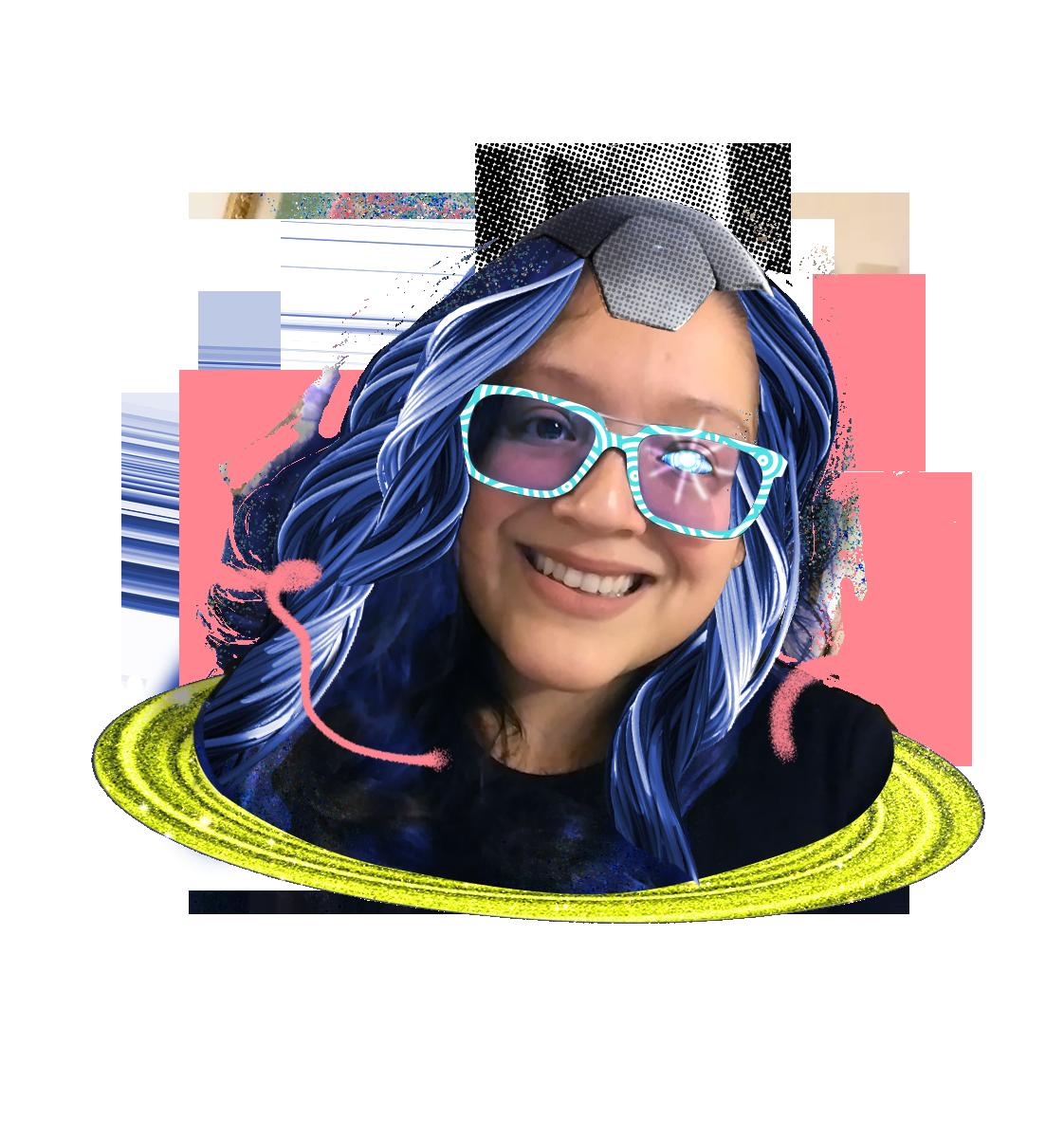 Augmented Portrait of Hilda Franco