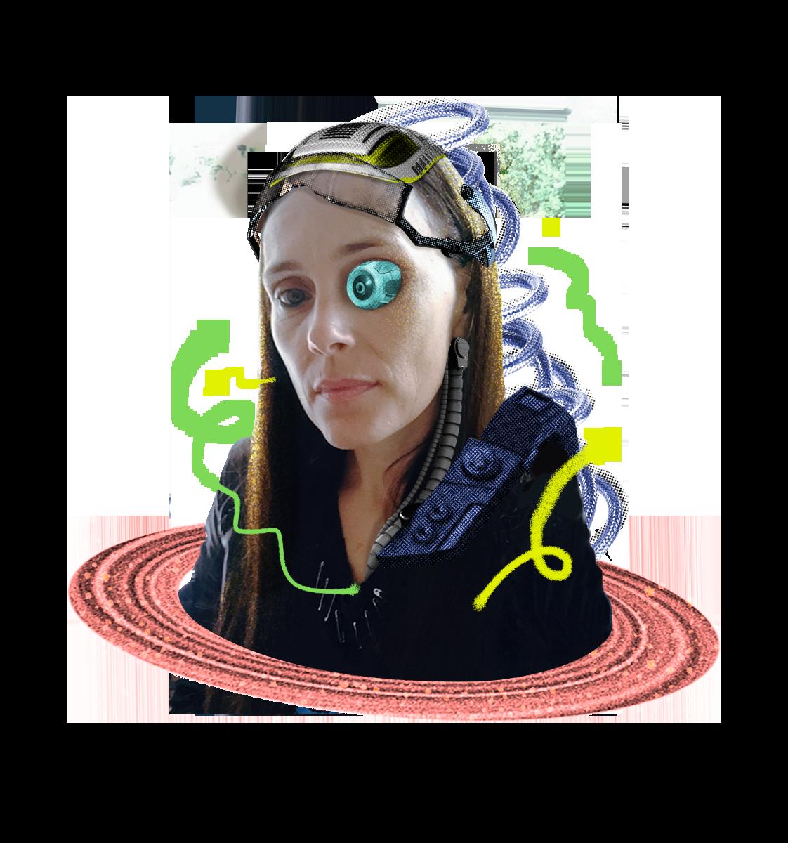 Augmented Portrait of Stéphanie Bozino-Routier